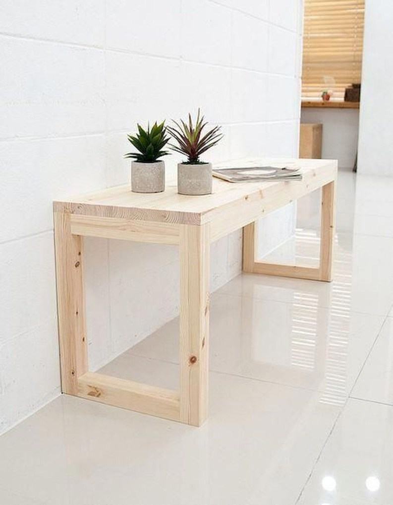 Superb DIY Wood Furniture for Your Small House and Cost-efficiency 36
