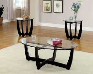 The Charm of Homely Contemporary Living rooms with Oval Coffee Table Decorations 16