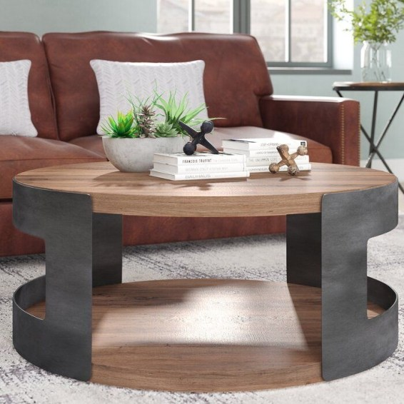 The Charm of Homely Contemporary Living rooms with Oval Coffee Table Decorations 30