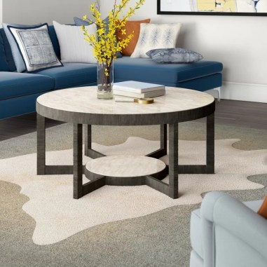The Charm of Homely Contemporary Living rooms with Oval Coffee Table Decorations 31