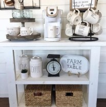 Best Coffee Bar Decorating Ideas for Your That Like a Coffee 03