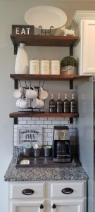 Best Coffee Bar Decorating Ideas for Your That Like a Coffee 04