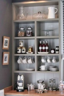 Best Coffee Bar Decorating Ideas for Your That Like a Coffee 19
