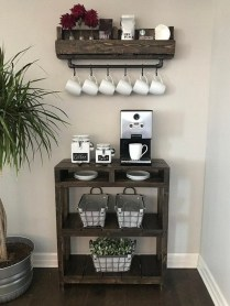 Best Coffee Bar Decorating Ideas for Your That Like a Coffee 42