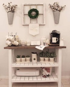 Best Coffee Bar Decorating Ideas for Your That Like a Coffee 51
