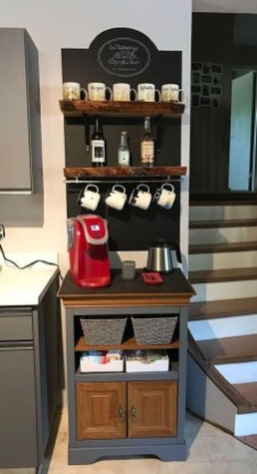 Best Coffee Bar Decorating Ideas for Your That Like a Coffee 56