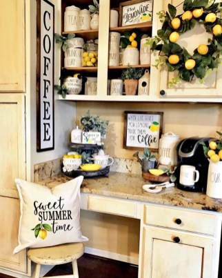 Best Coffee Bar Decorating Ideas for Your That Like a Coffee 66