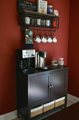 Best Coffee Bar Decorating Ideas for Your That Like a Coffee 69