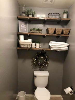 Cozy Fall Bathroom Decorating Ideasl 18