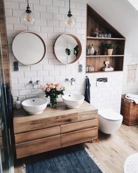 Cozy Fall Bathroom Decorating Ideasl 20