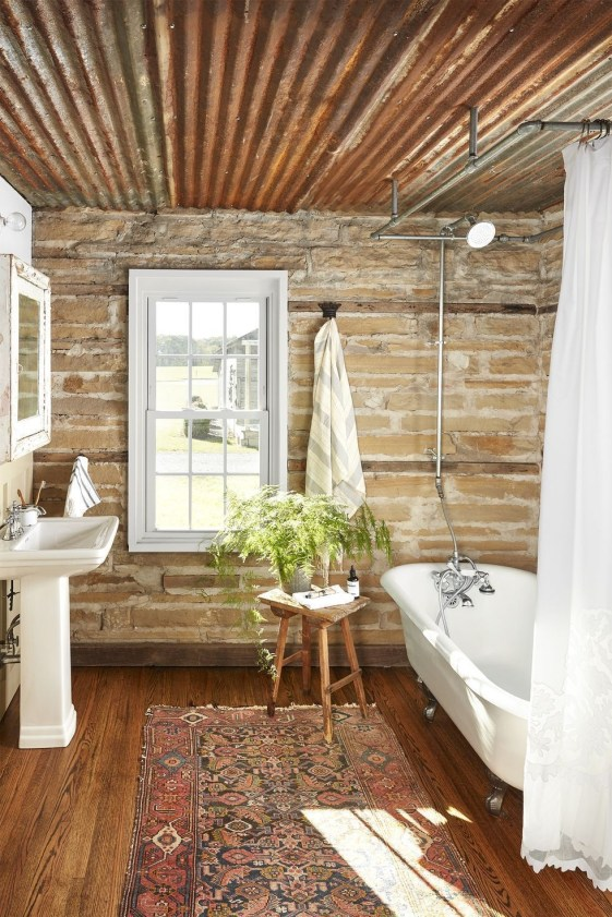 Cozy Fall Bathroom Decorating Ideasl 34