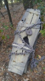 Creepy Halloween Coffin Decorations 12