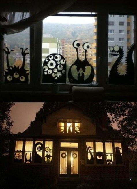 Easy and Cheap Halloween Decoration Ideas On a Budget 42