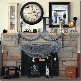 Elegant Halloween Mantel décor You Must Try In Halloween 2019 10