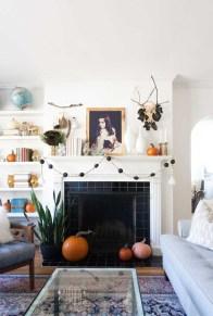 Elegant Halloween Mantel décor You Must Try In Halloween 2019 33