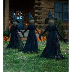Most Amazing DIY Halloween Decoration Ideas to Make Your Outdoor Decoration More Perfect 04