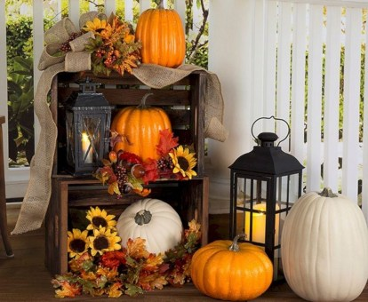 Most Beautiful Fall Decorating Ideas That Will Make More Perfect Home In This Fall 26