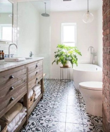 Small And Efficient Bathroom Renovation 16