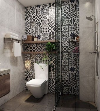 Small And Efficient Bathroom Renovation 33