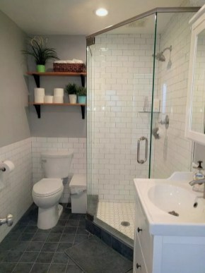 Small And Efficient Bathroom Renovation 34