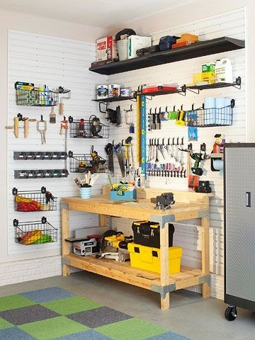 Smart and Comfortable Garage Organization for Your Small Room 23