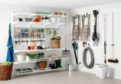 Smart and Comfortable Garage Organization for Your Small Room 24