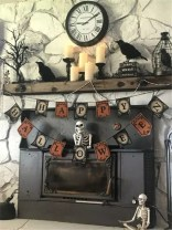 The Best Halloween Fireplace Decoration This Year 02
