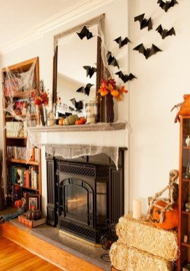 The Best Halloween Fireplace Decoration This Year 07