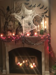 The Best Halloween Fireplace Decoration This Year 10