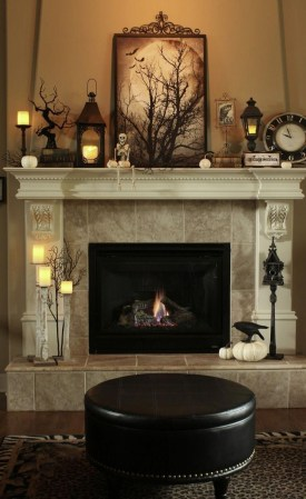 The Best Halloween Fireplace Decoration This Year 16