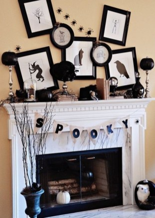 The Best Halloween Fireplace Decoration This Year 17