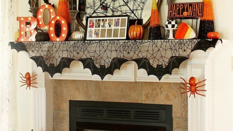 41 The Best Halloween Fireplace Decoration This Year