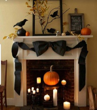 The Best Halloween Fireplace Decoration This Year 27