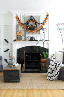 The Best Halloween Fireplace Decoration This Year 32