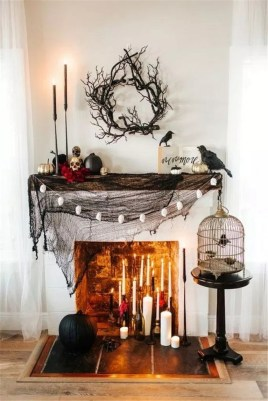 The Best Halloween Fireplace Decoration This Year 33