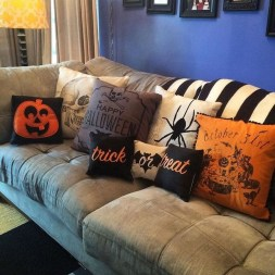 The Most Interesting Family Room Arrangement on This Halloween 18