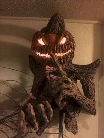 The Most Scary DIY Halloween Decoration Ideas For Your Home 12