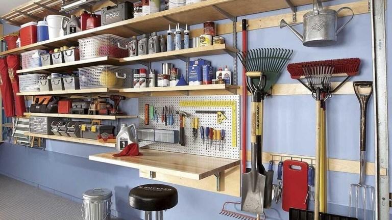 33 Inspiring Garage Organization Ideas with Shelves