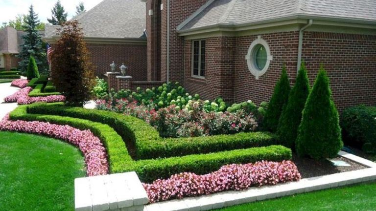 24 Awesome Front Yard Landscaping Decor Ideas