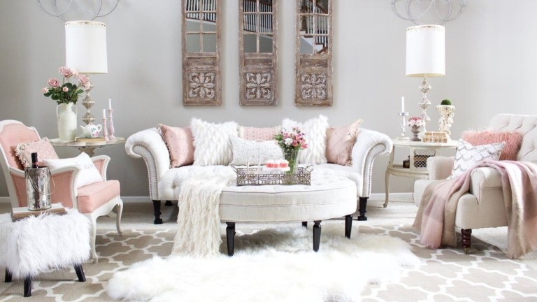 25 Living Room Design Ideas for Valentine Celebration That You Can Try