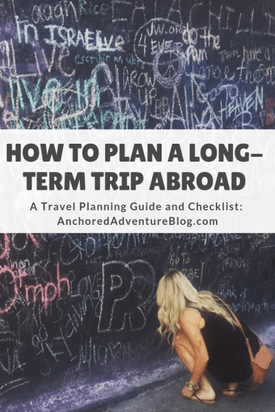 Looking for a step-by-step checklist for planning a trip abroad? This travel planning guide will show you how to plan a long-term international trip. Follow these steps to start planning your adventure!