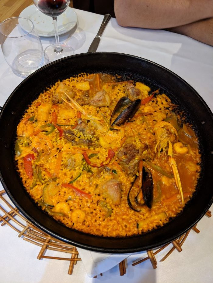 A photo of Paella in Madrid