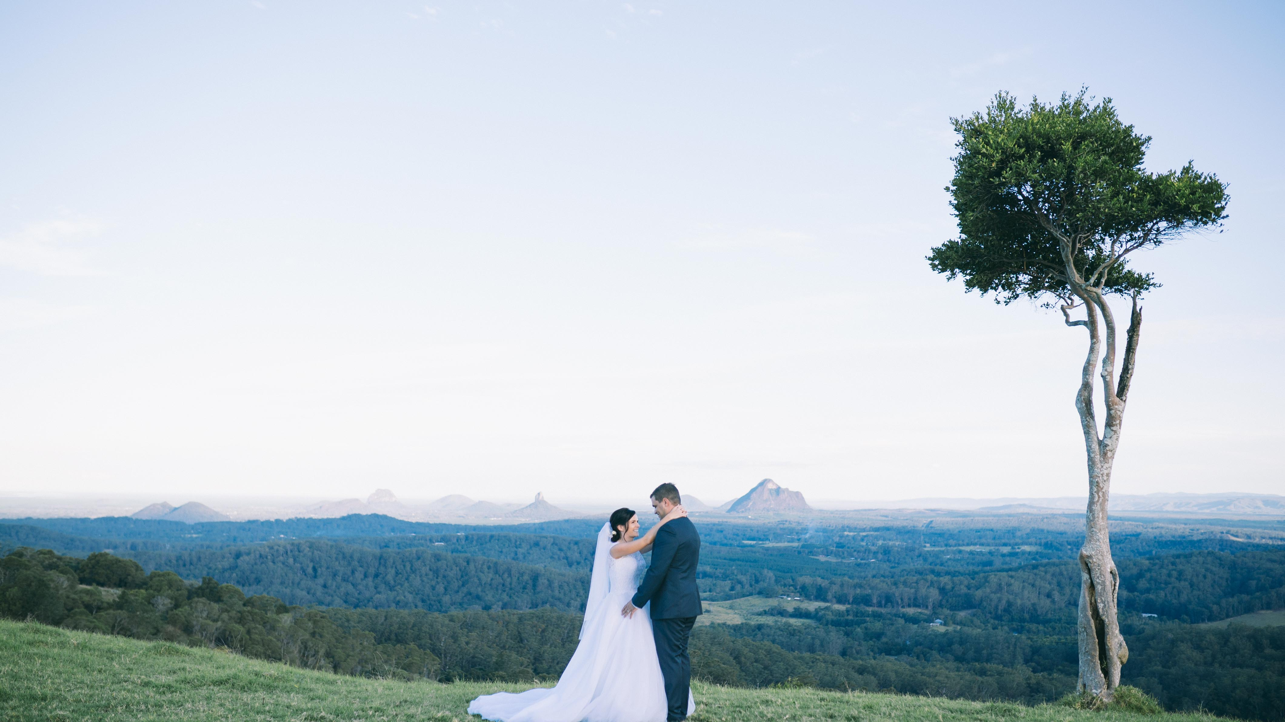 Chris + Nikky | 11/06/2016 | Maleny Manor, Maleny, QLD