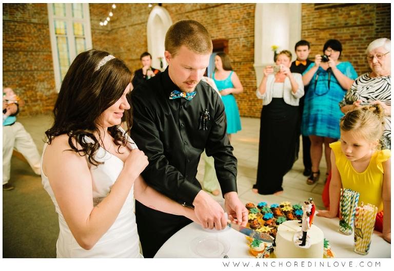 Meghan Amp Morgans Super Hero Wedding Anchored In Love