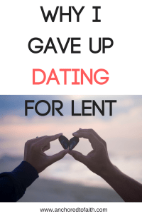 When should you give up dating