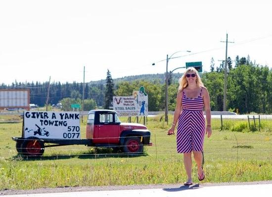 Outside Burns Lake. Photo courtesy of: Patricia Sayer