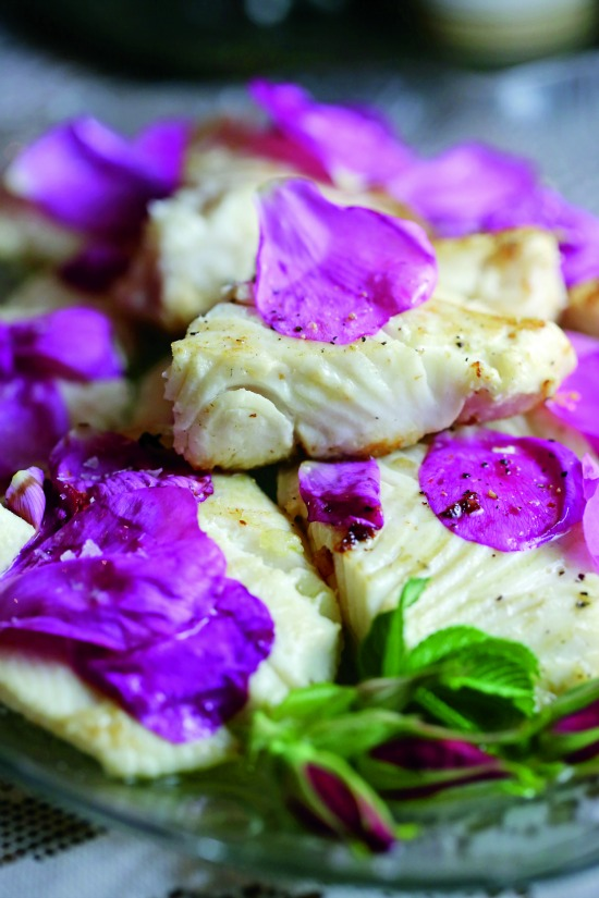 Halibut Rose Petals