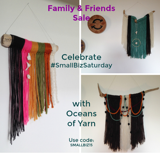 Support Small Business Saturday by shopping on Etsy.