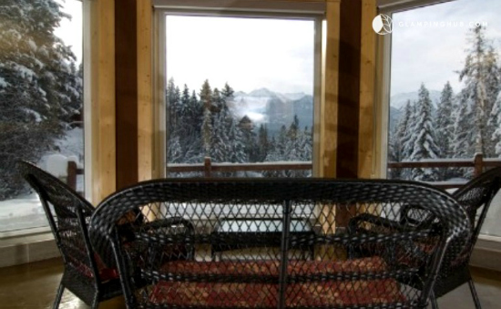 Glamping near the slopes: BC's best ski cabins