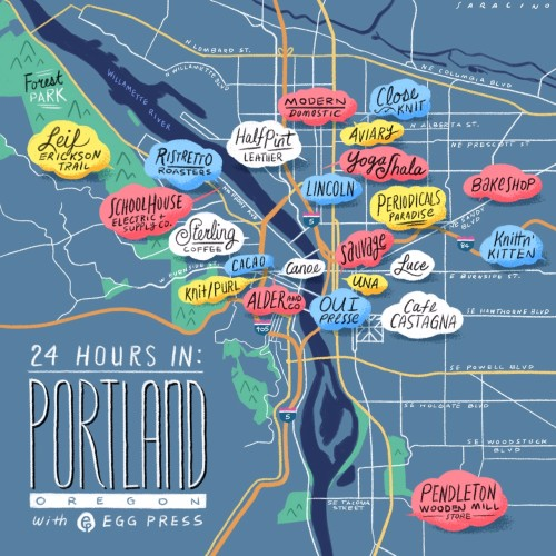Design*Sponge's Portland Oregon city guide